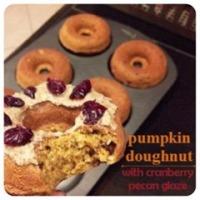 pumpkin doughnut
