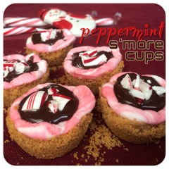 peppermint smore cups