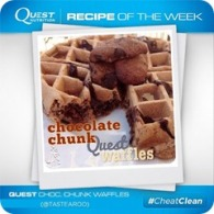 chocolate chunk quest waffle