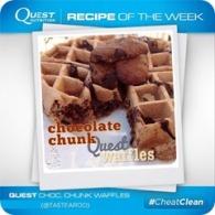 chocolate chunk quest waffle