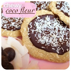 chewy coco fleur cookies