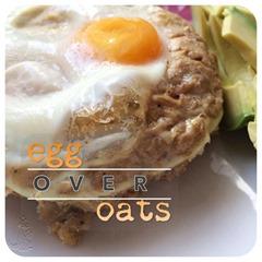 egg over oats