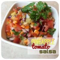 pinapple tomato salsa