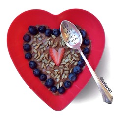 valentine's day oats