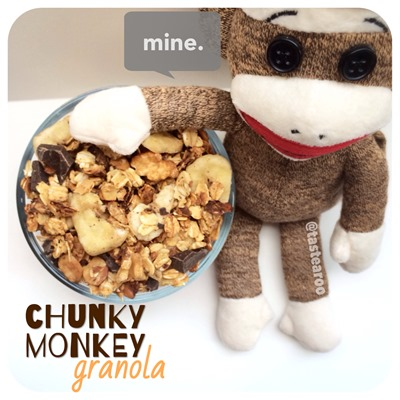 chunky money granola