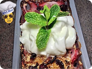 healthy dessert cake
