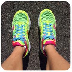 saucony running shoe