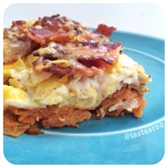 sweet potato egg casserole